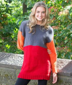 Color-Block Tunic