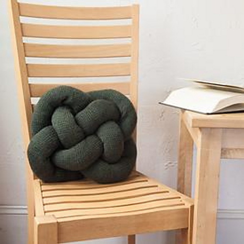 Knitting Patterns Galore Celtic Knot Pillow