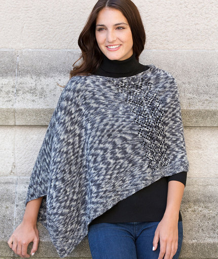 Knitting Patterns Galore Voyager Poncho