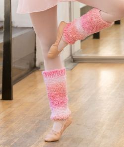 Shades of Pink Leg Warmers