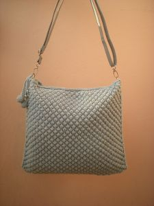 Grey Bubble Purse