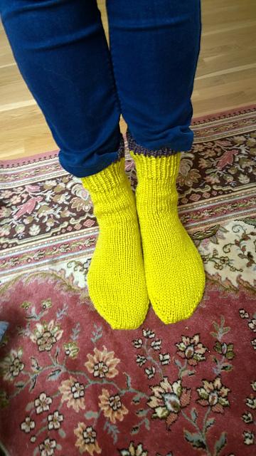 Knitting Patterns Galore - Silja and Reggie Chunky Socks