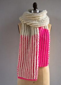 Color Dipped Scarves