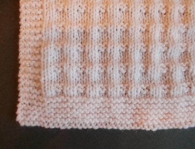 Knitting Patterns Galore Charlie Baby Blanket