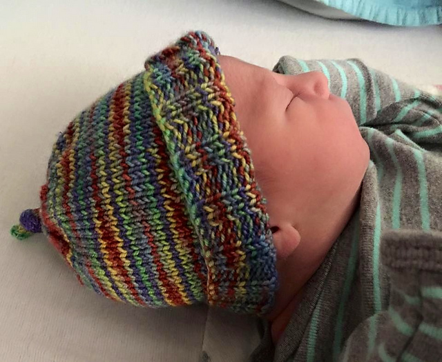 Knitting Patterns Galore Baby : Knitting Patterns Galore - Super Stretchy Baby Hat