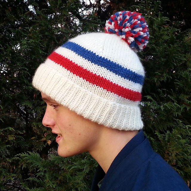 Knitting Patterns Galore Sports Fan Hat