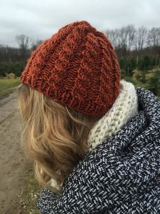 Squishy Cabled Hat