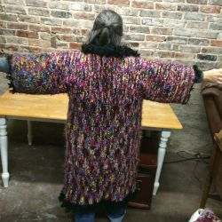 My First Ten-Stitch Coat