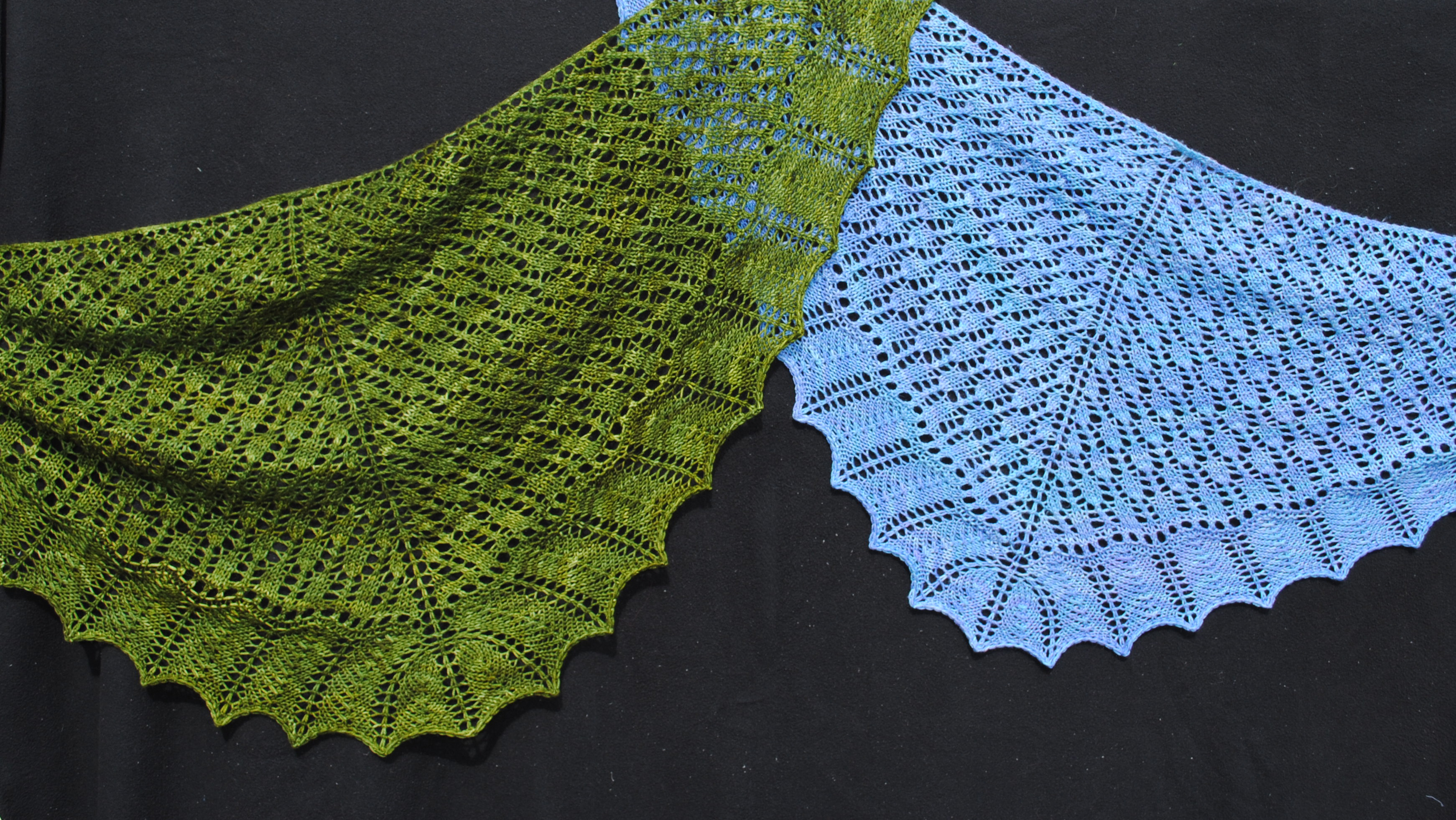Free Knitting Pattern For A Baby Shawl : Knitting Patterns Galore - Calais Shawl