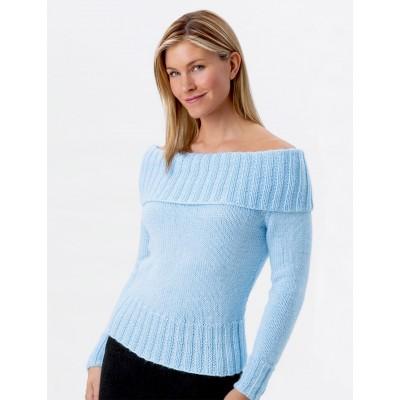 Knitting Patterns Galore Off Shoulder Sweater