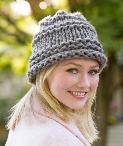 Knitting Patterns Galore City Chic Hat