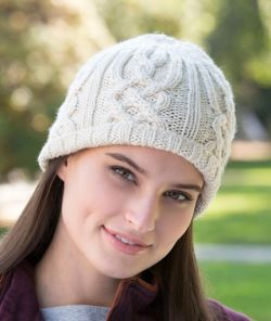 Lattice Look Beanie
