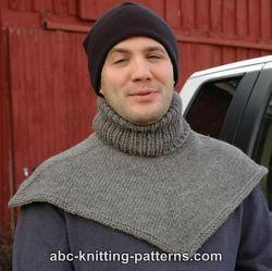 Knitting Patterns Galore Biker S Cowl Dickie