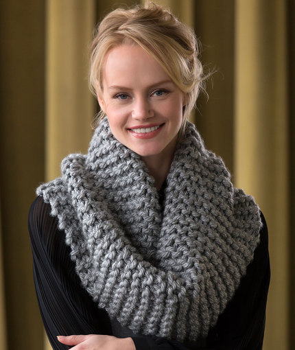 Free Knitting Patterns For Cowls And Snoods : Knitting Patterns Galore - Voluminous Cowl