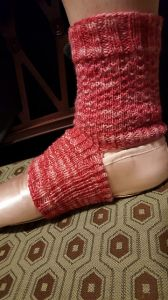 Hybrid Tea Rose Sock