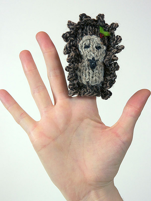 Knitting Patterns Galore - Finger Puppets