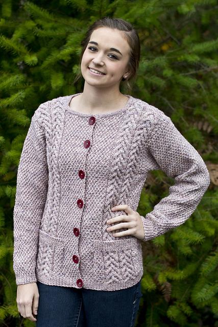 Knitting Patterns Galore - Joan's Cardigan