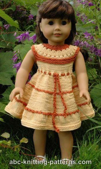 Knitting Patterns Galore American Girl Doll Caramel Popcorn Summer