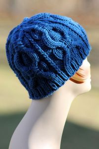 Banded Cable Beanie