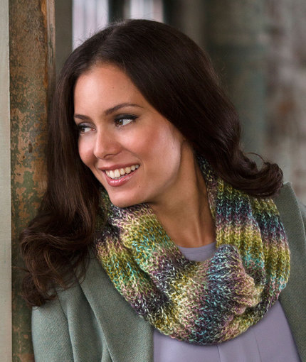 Knitting Patterns Galore Bird Seed Cowl