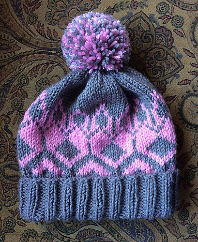 Knitting Patterns Galore - Hannah's Hat