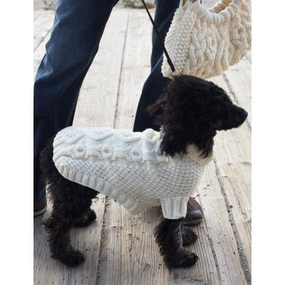 Knitting Patterns Galore Biscuits Bones Dog Coat Adorable Dog Sweater Patterns