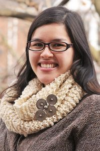 Woolly Rustic Infinity Scarf