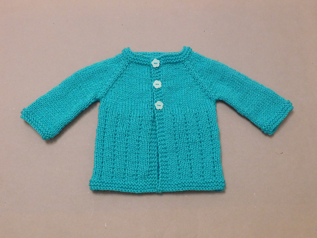 bbe8a334b Knitting Patterns Galore - Jack   Jill Baby Cardigan