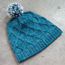 Hourglass Winter Hat