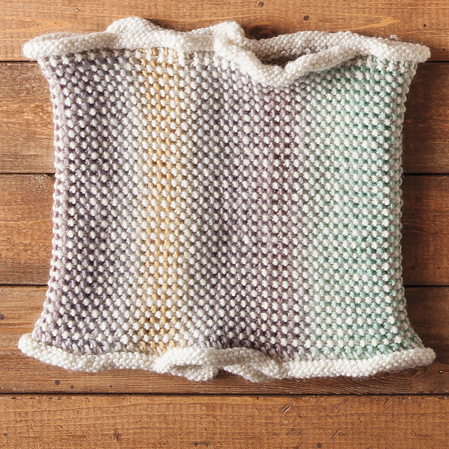Knitting Patterns Galore - Enchanted Valley Cowl