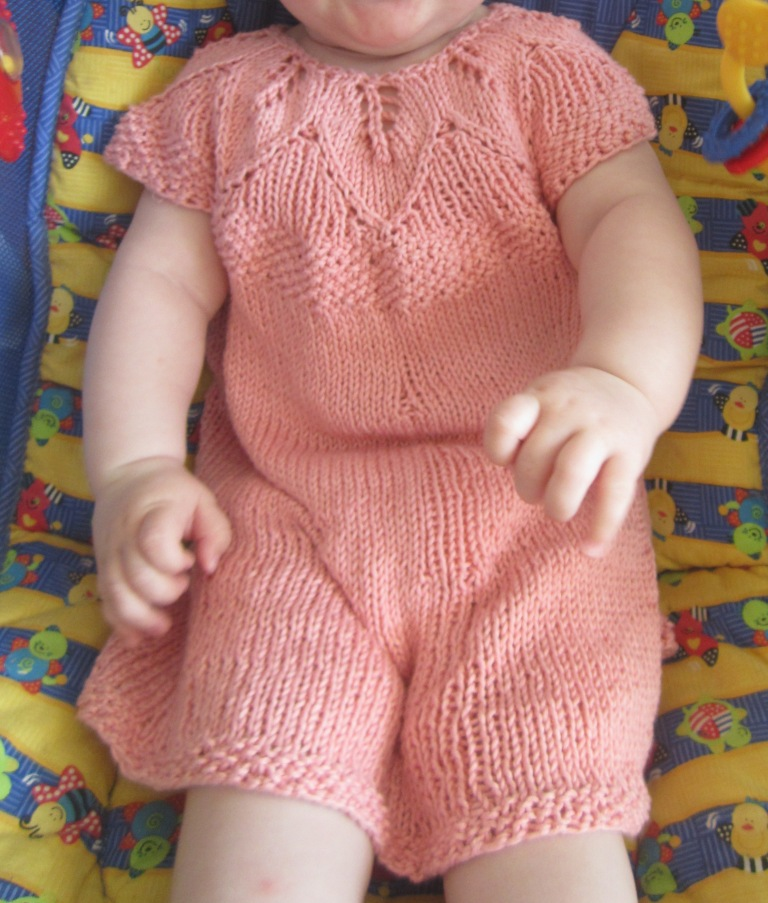 Knitting Patterns Galore Eli Baby Dress