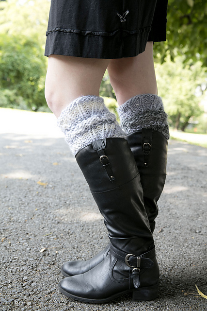Knitting Patterns Galore Boot Toppers
