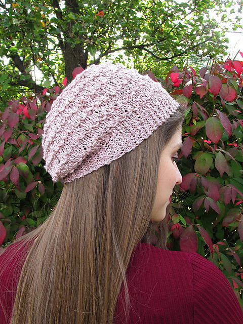 Knit Bobble Stitch In The Round : Knitting Patterns Galore - Bobble Stitch Hat