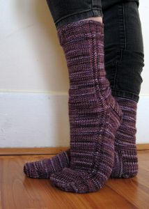 Bitty Twist Socks