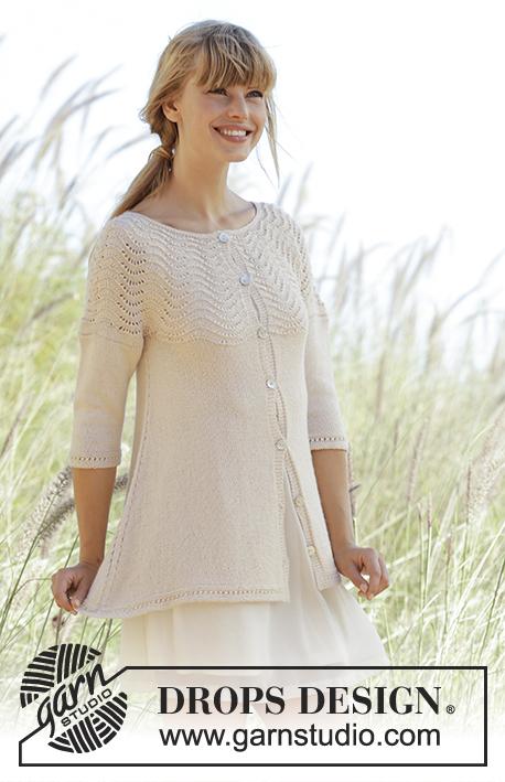 Knitting Patterns Galore - Dune Cardigan