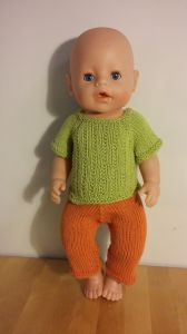 Striped Sweater for Doll BabyBorn