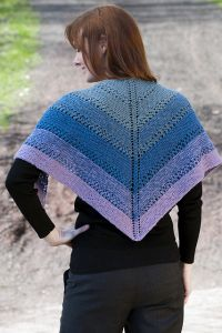 Color Shift Shawl