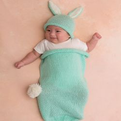 Cottontail Bunny Cocoon & Hat