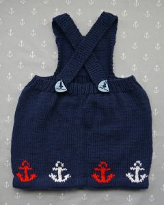 Baby Sailor Pinafore Dress