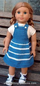 American Girl Doll Fair Skies Jumper