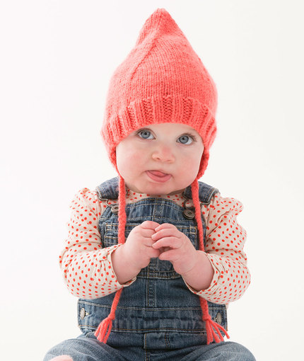 Knitting Patterns Galore - Cutie Pointed Hat
