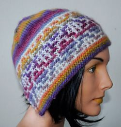 Mosaic Tile Hat