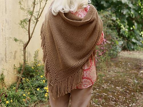 Knitting Patterns Galore French Shawl