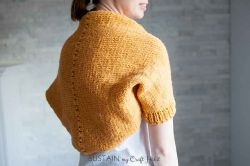 Simple Sunrise Shrug