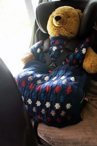 Dotty Car Seat Cover