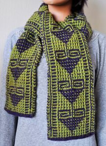 Flying Geese Mosaic Scarf