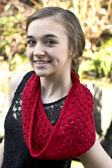 Knitting Patterns Galore - Summer Breeze Cowl