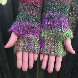 Noro Kama Fingerless Gloves