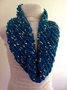 Gold Leaf Cowl