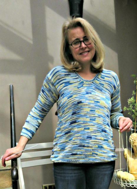 Knitting Patterns Galore - Sloppy Joe Sweater